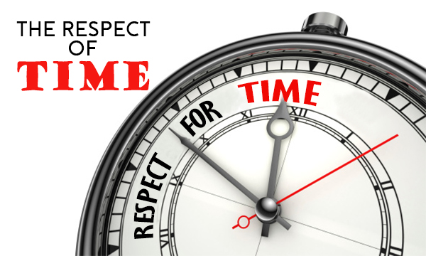 THE RESPECT OF TIME